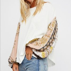 Free people thermal blossom sleeve